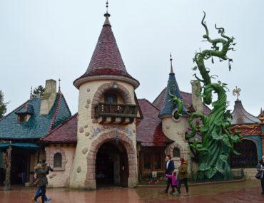 Disneyland Park met een kleuter