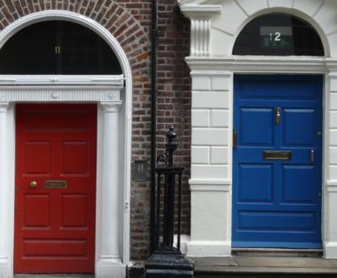 Merrion Square: Dublin Doors en Oscar Wilde