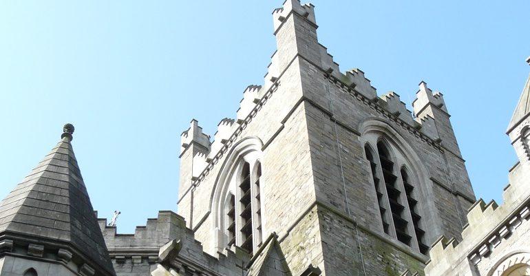 Viking kerk in Dublin