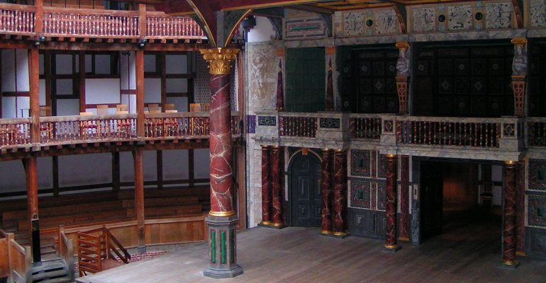 Het Globe Theatre in Londen