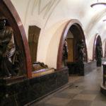 De metro in Moskou