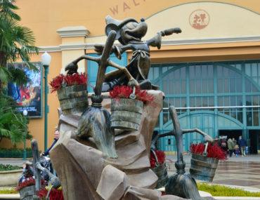 Walt Disney Studios Park met een kleuter