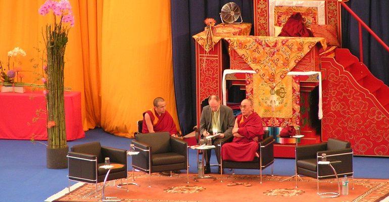 De Dalai Lama in Hamburg