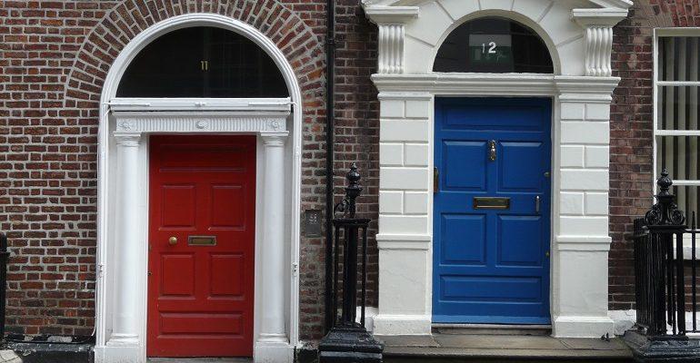 Merrion Square: Dublin Doors en Oscar Wilde
