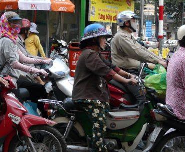 Het verkeer in Vietnam
