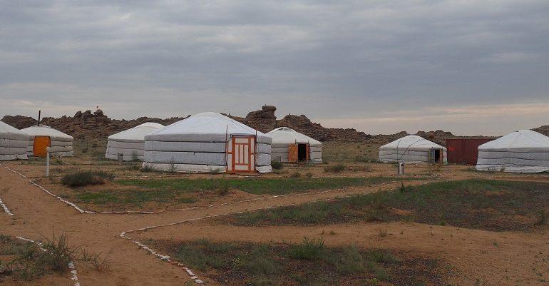 Overnachten in Mongoolse gerkampen
