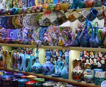 De Grote Bazaar van Istanbul