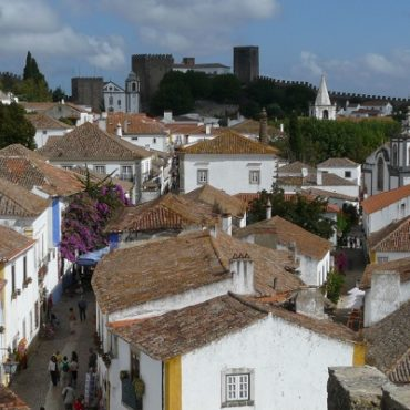 Vestingsstadje Óbidos is net een openluchtmuseum