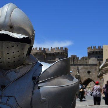 De ridders van Rhodos Stad